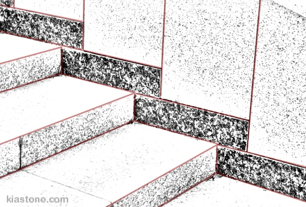 انواع کاربرد سنگ پله