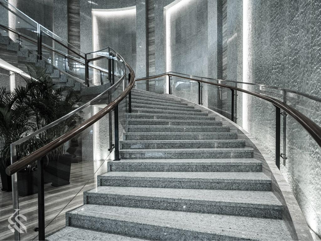 انواع سنگ پله | سنگ پله ساختمان