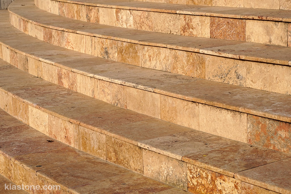 انواع سنگ پله کدامند