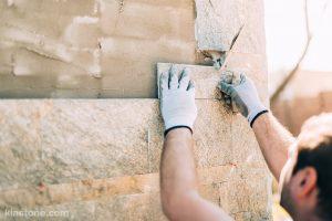 قیمت سنگ دیوار با توجه به ابعاد