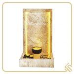 آبنما سنگی کتیبهای و تک ستونه سولماز | قیمت آبنما سنگی کتیبهای و تک ستونه سولماز | خرید آبنما سنگی کتیبهای و تک ستونه سولماز