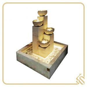 آبنما سنگی 4 ستونه مربعی سوفیا | قیمت آبنما سنگی 4 ستونه مربعی سوفیا | خرید آبنما سنگی 4 ستونه مربعی سوفیا